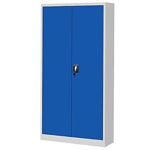 classeur, armoire métallique, coffret en acier, en tôle d'acier, armoire