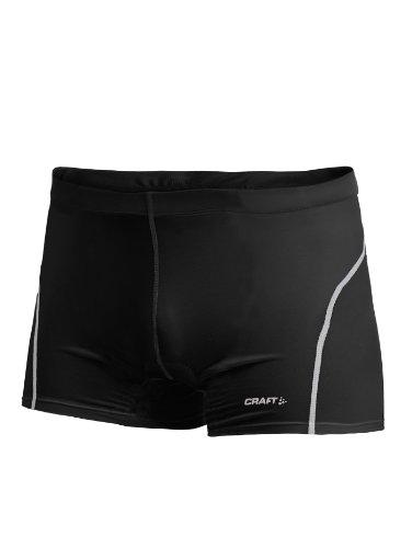 CRAFT STAY COOL BIKE BOXER JUNIOR Kinder Fahrradhose Unterzieh Radhose 1903154(158/164,BLACK - schwarz) - Junior Shorts Boxer