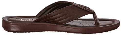FLITE Men's Brown Flip Flops Thong Sandals-9 UK/India (43.33 EU) (PUG501G)