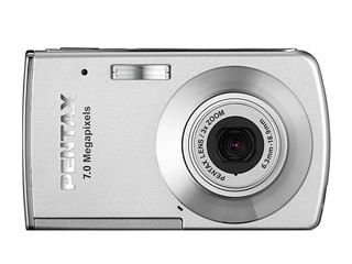 PENTAX Optio M30 Digitalkamera 7.1 (3072 x 2304) 21.9 MB Silber Silber Pentax Optio