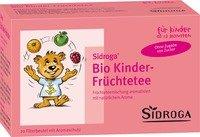 SIDROGA Bio Kinder Fruechtetee Filterbtl., 20 St