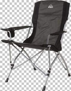 McKINLEY Deluxe Pro Camp-Stuhl, Grau, One Size