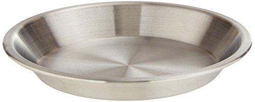 Winco APPL-9 Tortenplatte aus Aluminium, Größe M, 22,9 cm Große Pie Pan