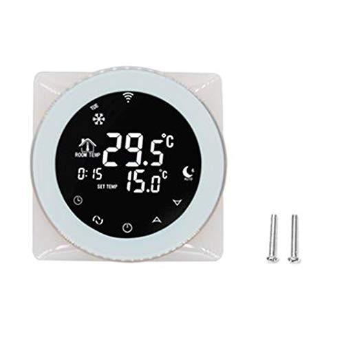 Morza Programmierbare WiFi Sprach Wasser-Heizungs-Thermostat Ersatz für Alexa/Google-Startseite Digitale Temperaturregler -
