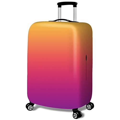 MISSMAO_FASHION2019 Kofferschutzhülle Gepäck Cover Reisekoffer Hülle Kofferschutz Gepäckabdeckung Graffiti und Steigung Design Style2 M(Fit 22-24 Zoll Koffer)