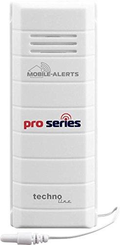 Technoline MA 10120 Zusatzsensor für das Mobile Alerts System, 3,2 x 1,5 x 8,5 cm, weiß