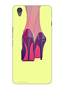 MiiCreations 3D Printed Back Cover for OnePlus X,High Heels
