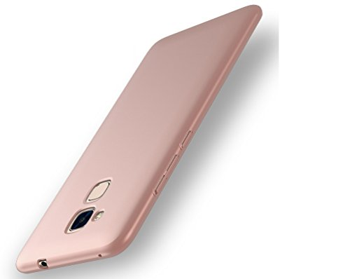EIISSION Huawei Honor 5c Hülle, Hardcase Ultra Dünn Huawei Honor 5c Schutzhülle aus Hart-PC Case Cover Handyhülle für Huawei Honor 5c (Rose Gold)