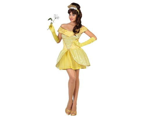 ATOSA 22884 Karnevalskostüm Damen Gelb ()