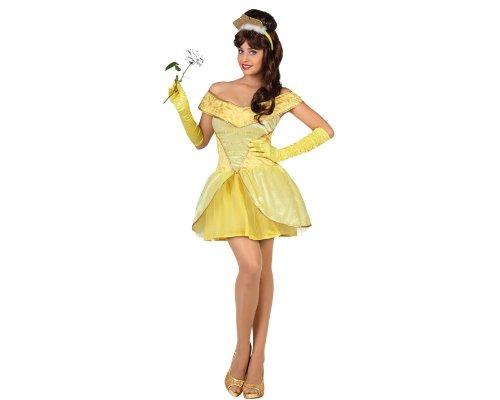 Atosa - Disfraz de princesa para mujer, talla M/L (22883)