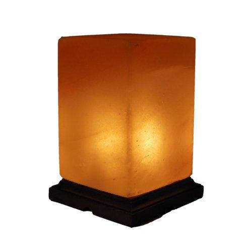 Preisvergleich Produktbild Crafted Himalaya-salz Lampe Kristall Luftreiniger Rechteckig 4x4x6-Inch