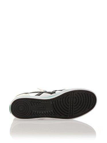 Onistuka Tiger Aaron Mt Unisex-Erwachsene Basketballschuhe weiß / schwarz