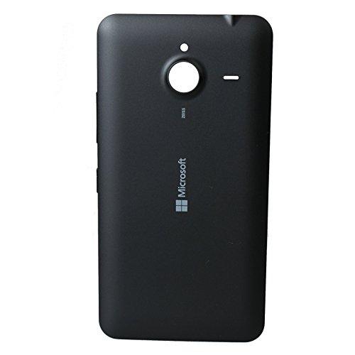 Original Akkudeckel schwarz für Microsoft Lumia 640 XL LTE & 640 XL LTE Dual Sim