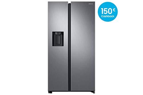 Samsung RS8000 RS6GN8231S9 / EG Side-by-Side Kühlschrank / A++ / 389 kWh / Jahr / 178 cm Höhe / 407 L Kühlteil / 210 L Gefrierteil / Silber / Space Max / Twin Cooling Plus