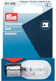 PRYM Ersatz Glühbirne für Nähmaschine mit Bajonettsockel