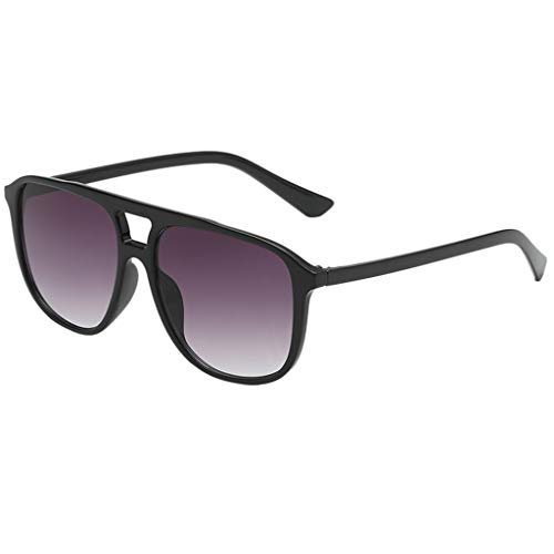 Mode Mann Frauen unregelmäßige Form Sonnenbrille Brille Vintage Retro Style Sonnenbrille mit korrekturgläsern Klassische Sonnenbrillen Feifish Damen Herren Unisex UV-Schutz