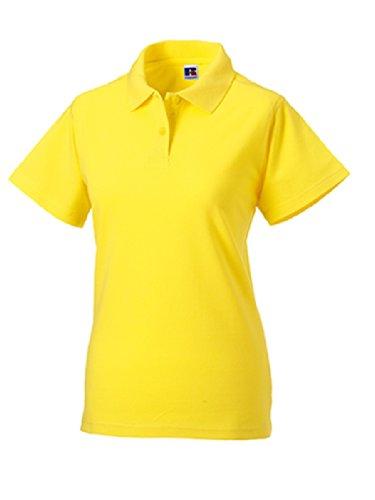Z569F Damen Classic Cotton Poloshirt Polohemd Yellow