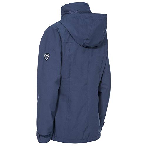 31vcRNCd1dL. SS500  - Trespass Women's Cruising Waterproof 3-in-1 Jacket with Concealed Hood with Tie Adjusters and Detachable Inner Marl Fleece