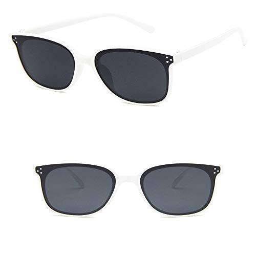 JYTDSA Große ovale Cat Eye Brille Femme Clip On Sonnenbrille Frauen Ultra Light Colored Glasses UV400