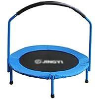35-Zoll-Trampolin mit Handlauf Mini-Trampolin Tragbares Jogging Fitness Erwachsenen- und Kinderübungsgerät Springendes Bett preisvergleich bei fajdalomcsillapitas.eu