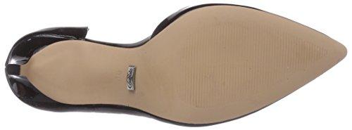 Buffalo H733-25 P1236i, Chaussures à talons - Avant du pieds couvert femme Noir - Schwarz (BLACK 01)