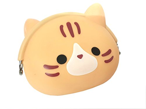 Jadebin Indian Cat Cute Mini Soft Wallet Cartoon Silicone Hasp Clutch Bag Coin Purse Coin Bag Mini Wallet For Girls | Kids  available at amazon for Rs.149