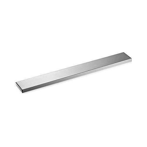 HJM Magnetischer Messerhalter, Magnetischer Messerhalter Aus Edelstahl Für Die Wand Selbstklebend, Messerblock-Aufbewahrungsstreifen Ständer Für Metallutensilien Werkzeuge Küchenlager,36CM