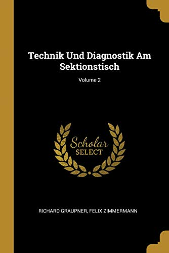 Price comparison product image Technik Und Diagnostik Am Sektionstisch; Volume 2