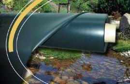 Bâche pour bassin AquaFlexi Liner EPDM 0,6mm 9 x 6m
