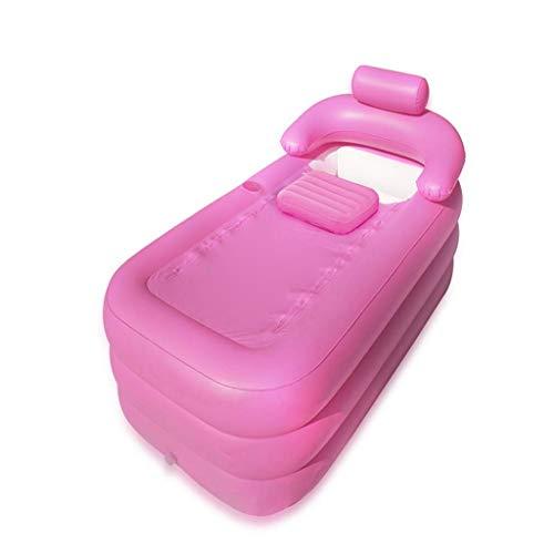 liuhoue Aufblasbare Badewanne Badewanne PVC Portable Whirlpool Spa Umwelt Portable Einweic