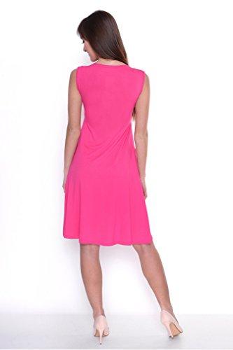 Mija - 2 in1 Umstandskleid & Kleid / Elegantes Schwangerschaftskleid Oxd2 Rosa