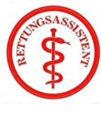 Äskulap Rettungsassistent Emblem - KLETT - DRK Funktionsabzeichen - MIH Medical