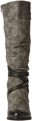 Rieker 96054-45 bottes & bottines femme Gris (Smoke/black)
