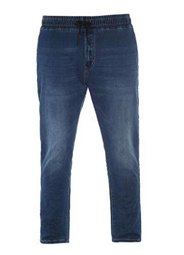 Maxfort easy 1302 pantalone jeans calibrato uomo taglie forti (5xl)