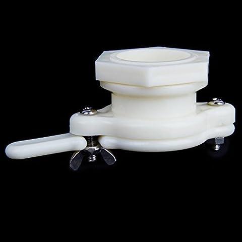 1pc 38mm Kunststoff Honig Tor Ventil Gewinnung Abfüllung Werkzeug Weiß