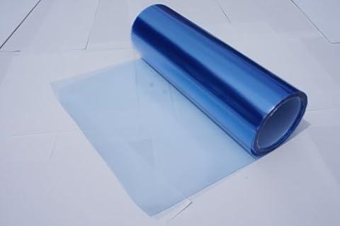 Headlights, Tail Lights, Fog Lights Tint Vinyl Film, Self Adhesive (Small 12''X48'', Frozen Light Blue) by DIBRAND
