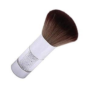 FOONEE – Limpiador de polvo y polvo para uñas acrílicas y UV, color marrón