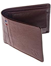Panther Men's Genuine Leather Wallet (Color - Brown, Italian Leather)