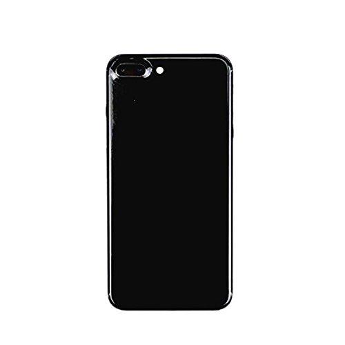 Für iPhone 7 Plus Luxus Jet Schwarz Ganzkörper Haut Aufkleber Aufkleber Wrap (Mdc-aufkleber)