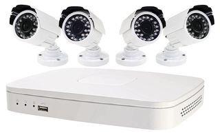 8-Kanal DVR CCTV System, 4Bullet Kameras-kit008-map