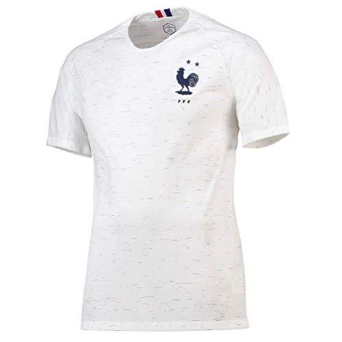 new style 22243 9be45 TopFans Maillots de Football de France Soccer Jersey 2018/France de  Football T-Shirt - Antoine Griezmann/Kylian MBAPPE - Taille Adulte Homme