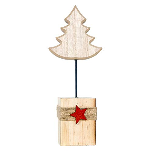 Mitlfuny Festival dekor,Christmas,Halloween,Weihnachtsdekoration,Halloween deko,Halloween kostüm,Holz Mini Weihnachtsbaum Desktop Ornamente Frohe Weihnachten Party Decor (Baby Mini Monster Kostüm)