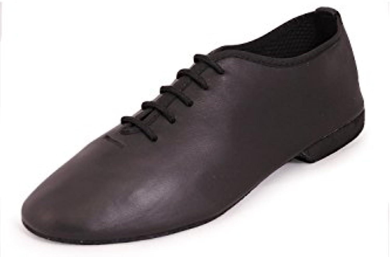 Roch Valley Chaussures de Jazz en Cuir avec avec avec Semelle en DaimB0062WGCO8Parent 8a462e