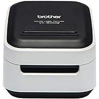 Brother VC-500W - Impresora de Etiquetas a Color con WiFi. Permite Crear Etiquetas Personalizadas.(USB 2.0, Wi-Fi, Cortador Manual y automático)