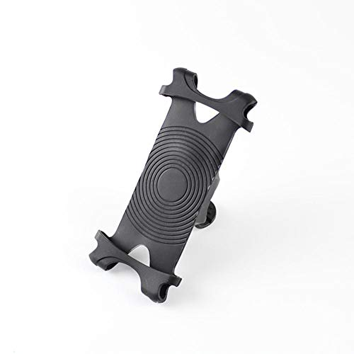 Bike Mount, Universal Fahrrad Handyhalter, Verstellbare Silikon Lenker Rack für Smartphone Ideal für Road Mountain Bikes und Motorrad (Geräte-rack Elektronische)