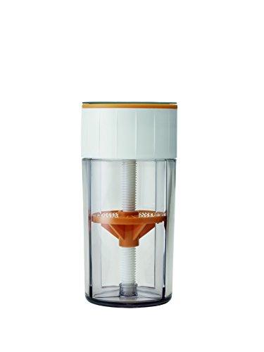 RIG-TIG by Stelton Z00045 Parmesanreibe, Kunststoff, transparent, 7.5 x 7.5 x 15.7 cm