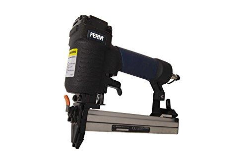 FERM ATM1042 Grapadora negra 12-25mm