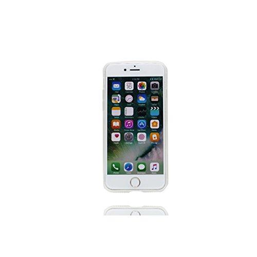 iPhone 6S Copertura,iPhone 6 Custodia,Ultra copertina protettiva del fumetto della pelle TPU del gel di silicone molle eccellente sottile di cristallo TPU case cover per il iPhone 6 / 6S-cactus 9