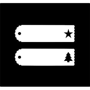 Geschenkanhänger Papieranhänger Tags Etiketten Frohe Weihnachten