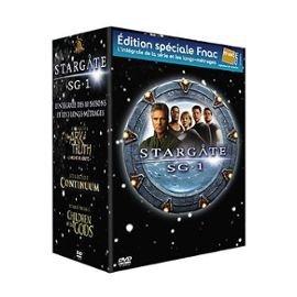 """Stargate Sg.1 - L""""Integrale Des 10 Saisons Et Les 3 Longs-Metrages, DVD/BluRay"""